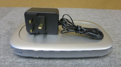 Netgear DG834 4 Port ADSL Firewall Network Router With AC Power Adapter
